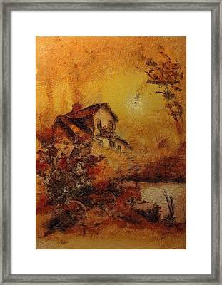 Beorn's Home Framed Print by Mario Carini