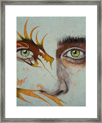 Beowulf Framed Print by Michael Creese