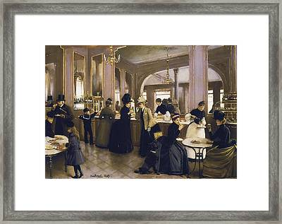 Beraud, Jean 1849-1935. The Gloppe Framed Print by Everett