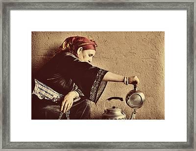 Berber Whiskey Framed Print by Studio Yuki