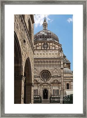 Bergamo Cappella Colleoni  Framed Print by Rostislav Bychkov