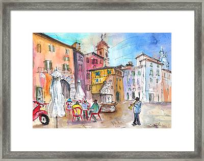 Bergamo Lower Town 02 Framed Print by Miki De Goodaboom