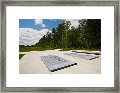 Bergen-belsen Ww2 Concentration Camp Framed Print by Panoramic Images