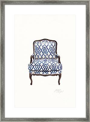 Bergere Framed Print by Jazmin Angeles
