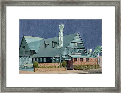 Bergins Framed Print