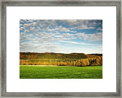 Bergisches Land Framed Print by Jorg Greuel