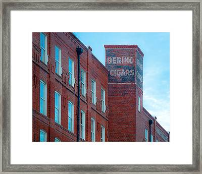 Bering Cigars Framed Print by Ybor Photography