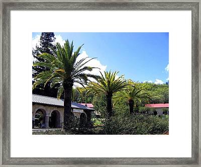 Beringer Vineyards Framed Print