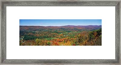 Berkshire Mountains, Massachussetts Framed Print by Panoramic Images