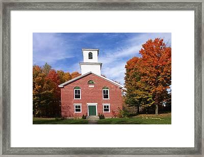 Berkshire Vermont Framed Print