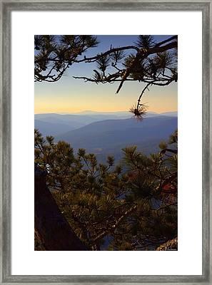 Berkshire View Framed Print