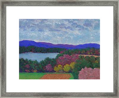 Berkshires In Late October Framed Print