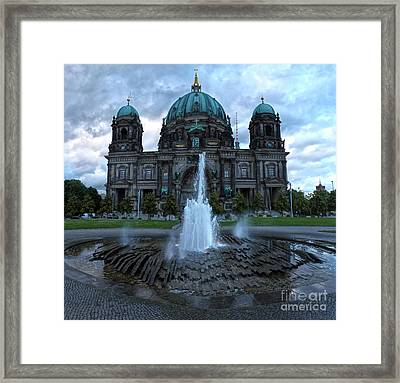 Berlin - Cathedral Framed Print by Gregory Dyer