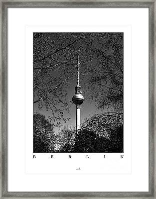 Berlin - Spring Framed Print by ARTSHOT  - Photographic Art