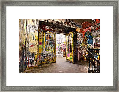 Berlin - The Kunsthaus Tacheles Framed Print