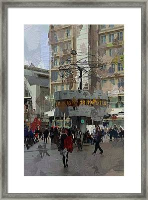 Berlin Alexanderplatz Framed Print by Steve K