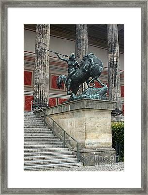 Berlin - Altes Museum No.02 Framed Print by Gregory Dyer