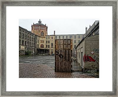 Berlin Architecture No.01 Framed Print by Gregory Dyer