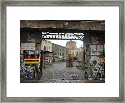 Berlin Architecture No.02 Framed Print by Gregory Dyer