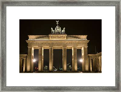 Berlin Brandenburg Gate Framed Print