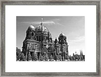 Berlin Cathedral Framed Print