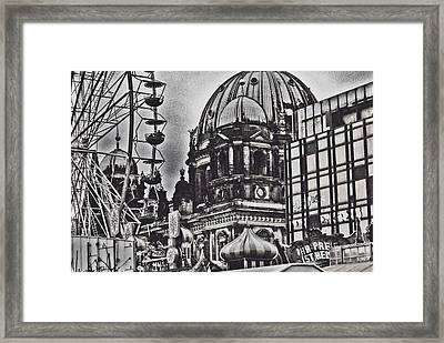 Framed Print featuring the photograph Berlin Christmas Market by Cassandra Buckley