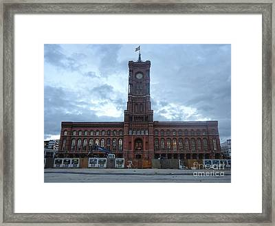 Berlin - City Hall Framed Print by Gregory Dyer