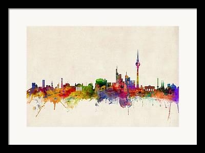 Berlin Framed Prints