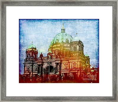 Berlin Dome Framed Print