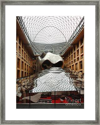 Berlin - Dz Bank Building - Frank Gehry Framed Print by Gregory Dyer