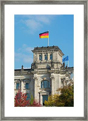 Berlin, Germany Reichstag Building Framed Print