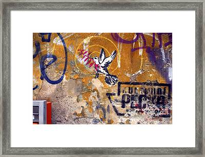 Berlin Graffiti Framed Print