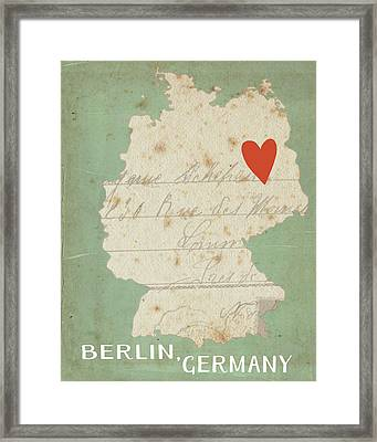 Berlin Framed Print by Katie Doucette