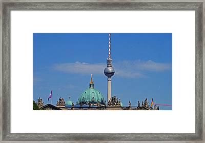 Berlin Framed Print by Kees Colijn