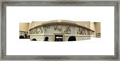 Berlin - Pergamon Museum - No.01 Framed Print by Gregory Dyer