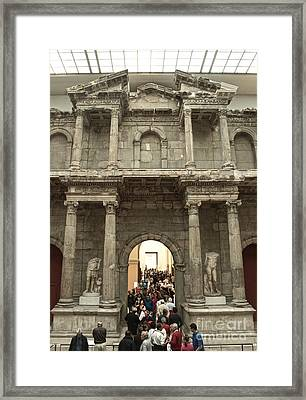 Berlin - Pergamon Museum - No.02 Framed Print by Gregory Dyer