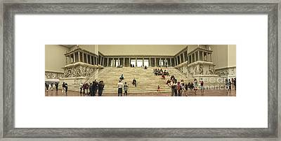 Berlin - Pergamon Museum - No.03 Framed Print by Gregory Dyer