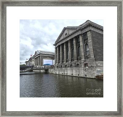 Berlin - Pergamon Museum - No.04 Framed Print by Gregory Dyer