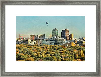 Berlin / Potsdamer Platz / Autumn Framed Print by Gynt