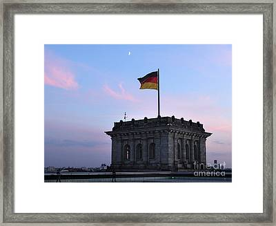 Berlin - Reichstag Roof - No.01 Framed Print by Gregory Dyer