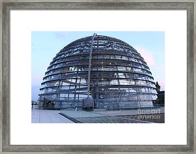 Berlin - Reichstag Roof - No.02 Framed Print by Gregory Dyer