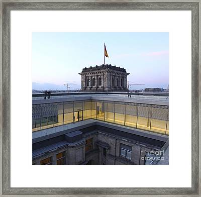 Berlin - Reichstag Roof - No.04 Framed Print by Gregory Dyer
