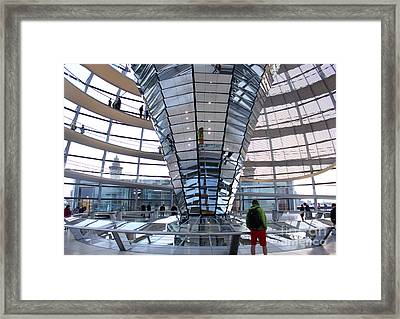Berlin - Reichstag Roof - No.05 Framed Print by Gregory Dyer