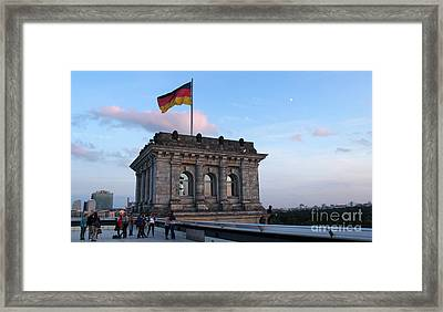 Berlin - Reichstag Roof - No.09 Framed Print by Gregory Dyer