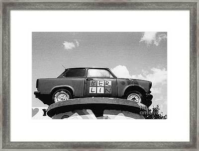 Berlin Trabant Framed Print by Dean Harte