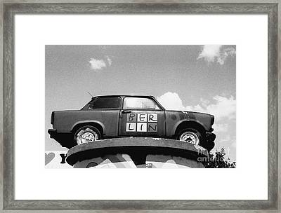Berlin Trabant Framed Print