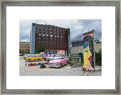 Berlin - Trabi Safari - No.01 Framed Print by Gregory Dyer