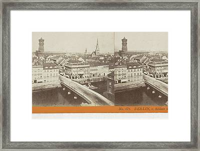 Berlin, V. Schloss N. D. Konigs-str, Germany Framed Print