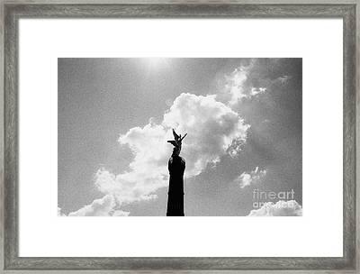 Berlin Victory Column Framed Print by Dean Harte