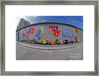 Berlin Wall Art Framed Print